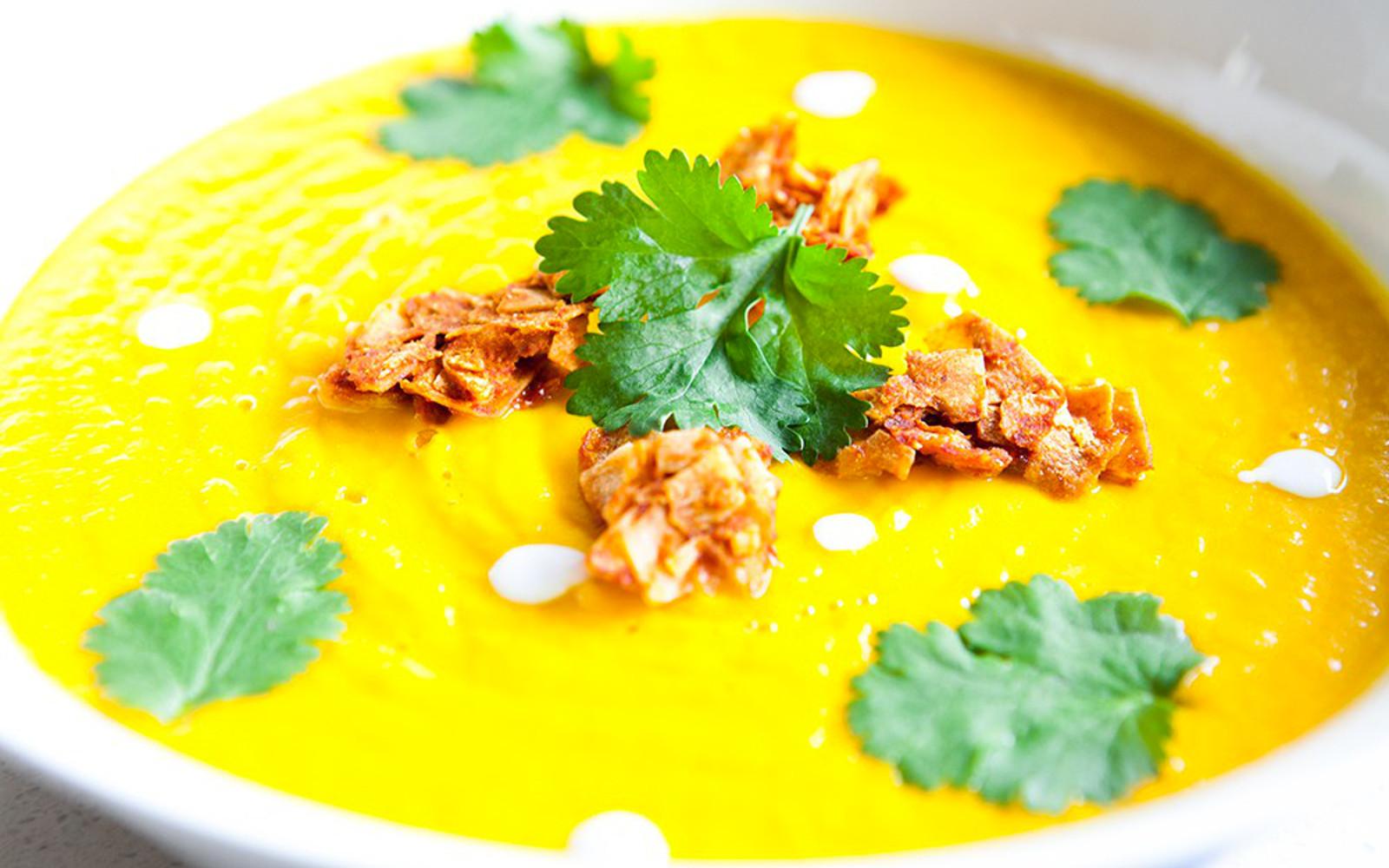 Healing Pumpkin Turmeric Soup