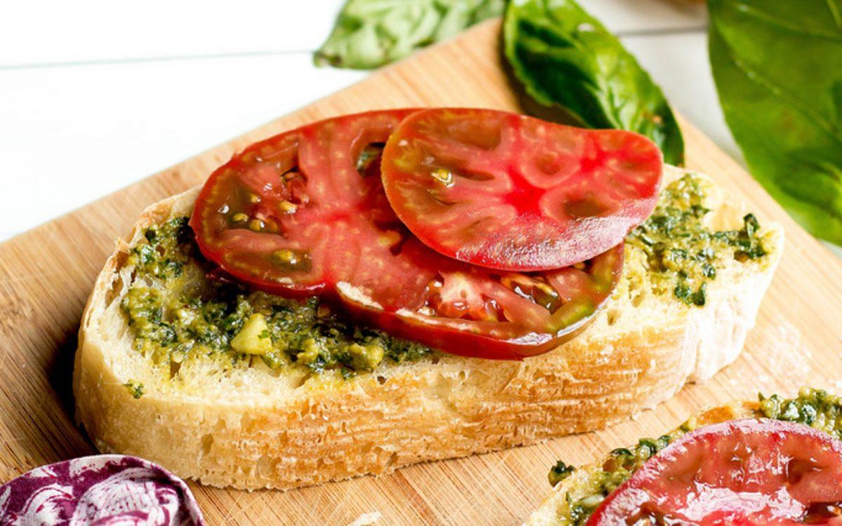 Heirloom Tomato Tartines