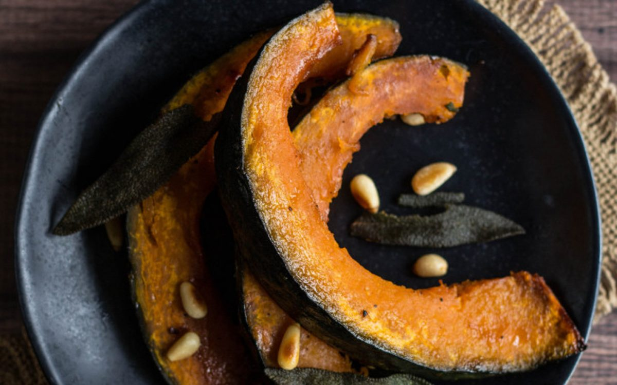 Kabocha With Maple Butter Glaze 4
