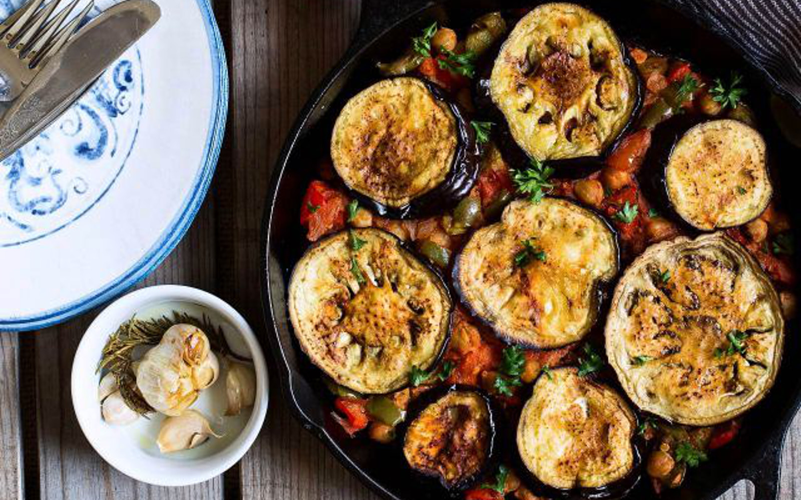 Chickpea And Eggplant Moussaka Vegan Gluten Free One Green Planet