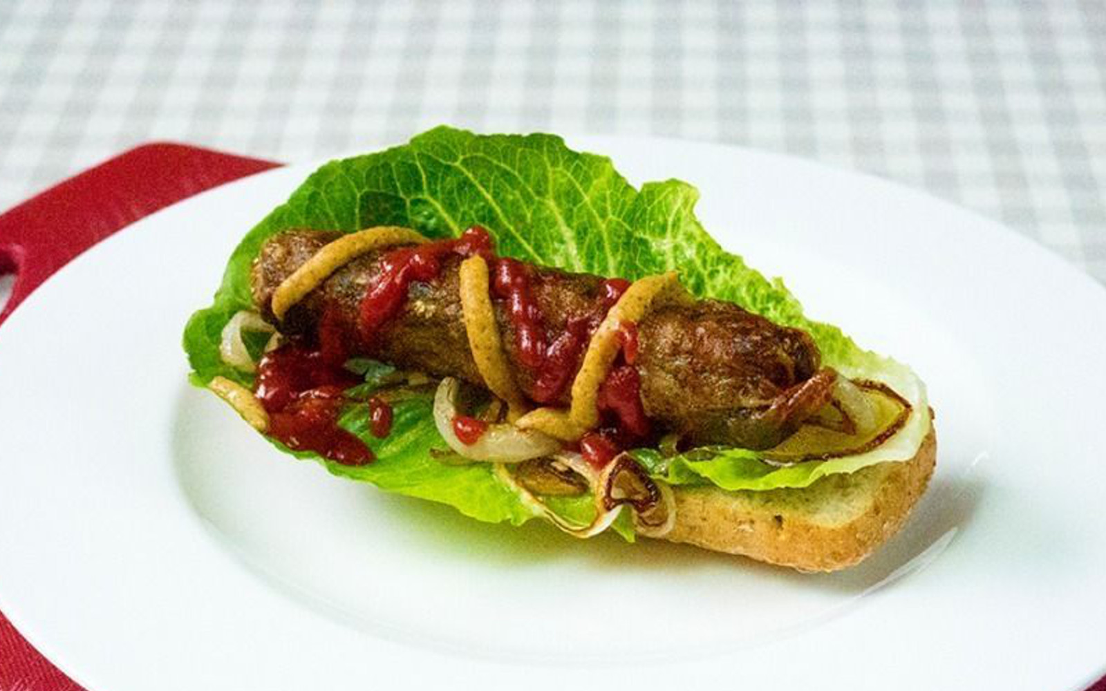 Mushroom and Vegetable Protein Sausages