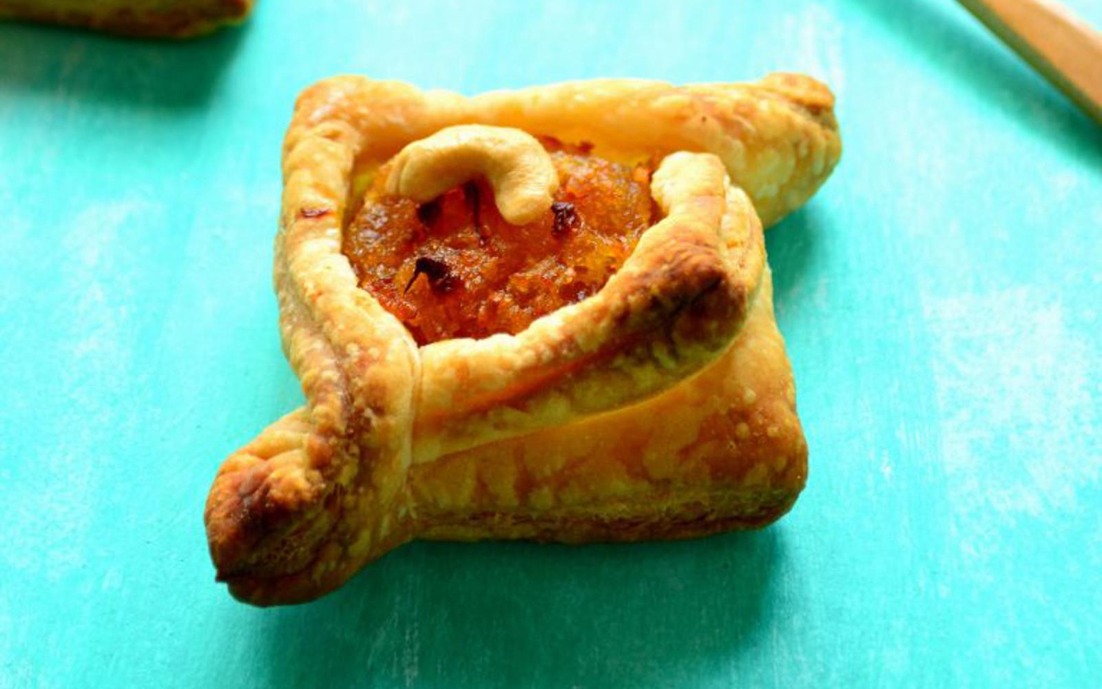 Pumpkin Halwa Puff Pastry Tarts 2