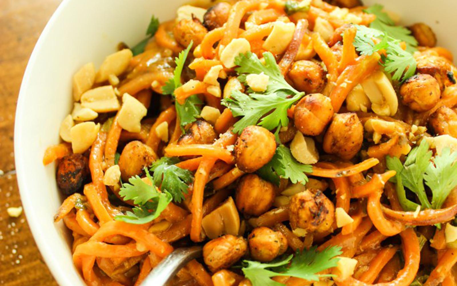 Thai Peanut Sweet Potato Noodles 3