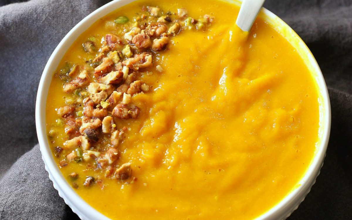 Butternut Squash and Turmeric Soup 3