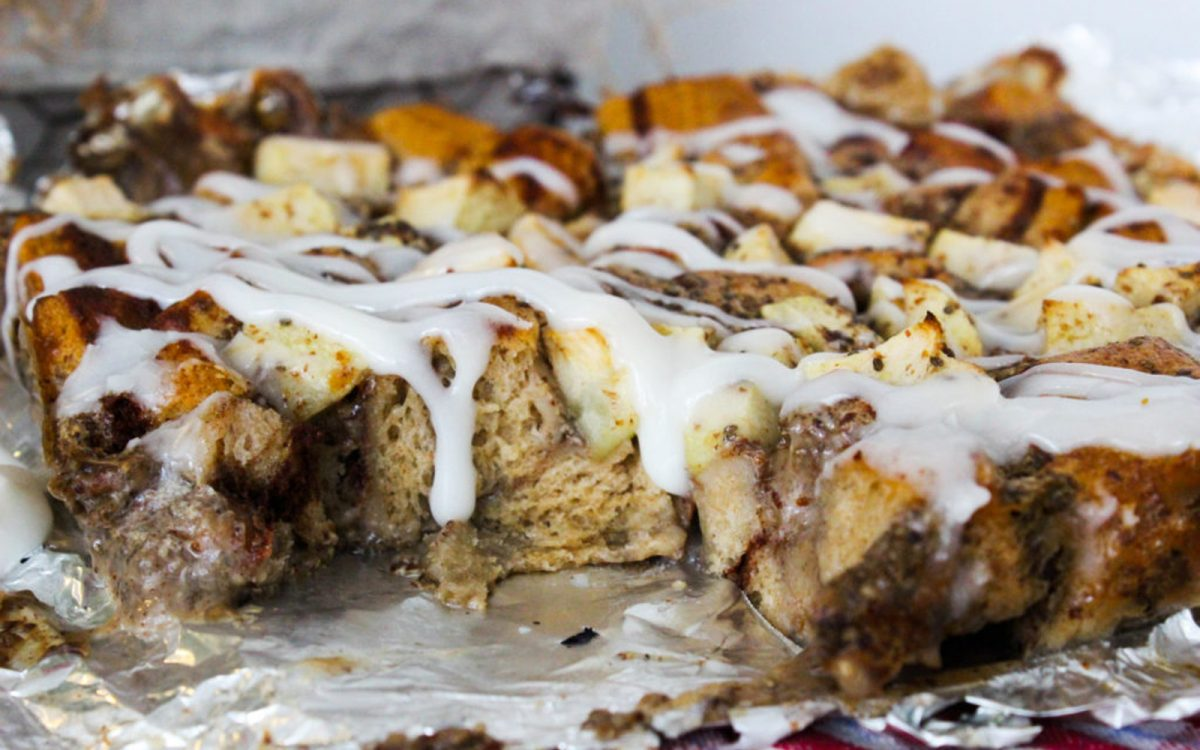 Cinnamon Roll Bread Pudding 4