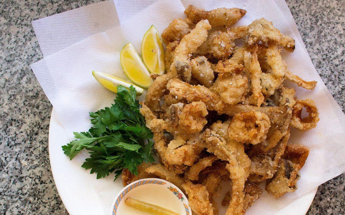 Crispy Mushroom Calamari 1