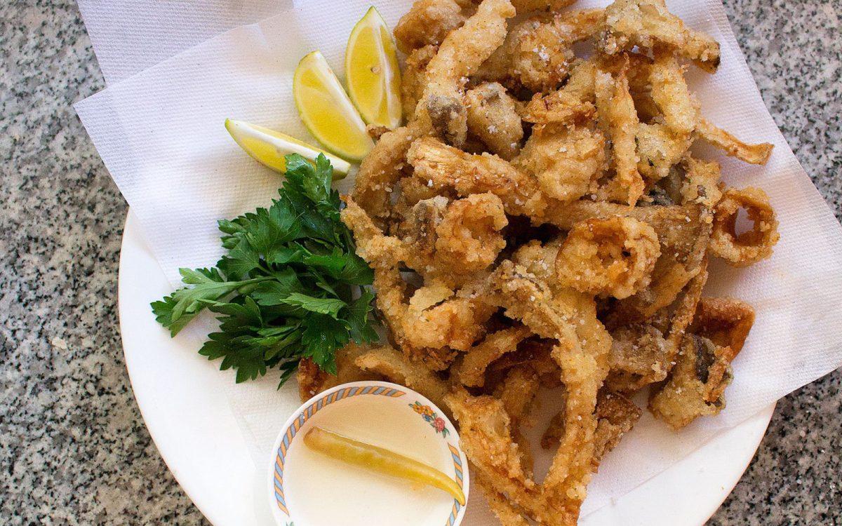 Crispy Mushroom Calamari 4