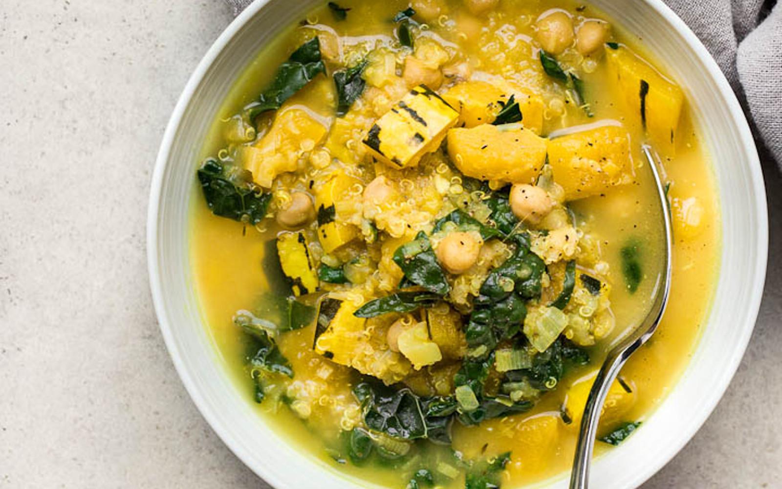 Delicata Squash Stew With Chickpeas and Quinoa 2