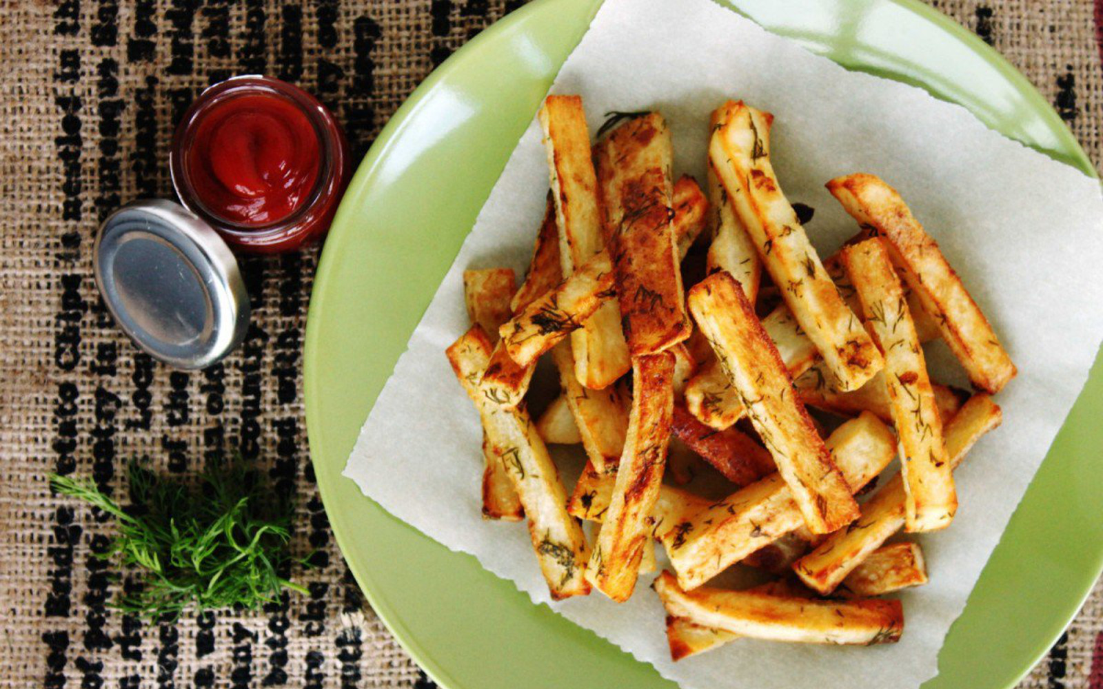 dill pickle french fries