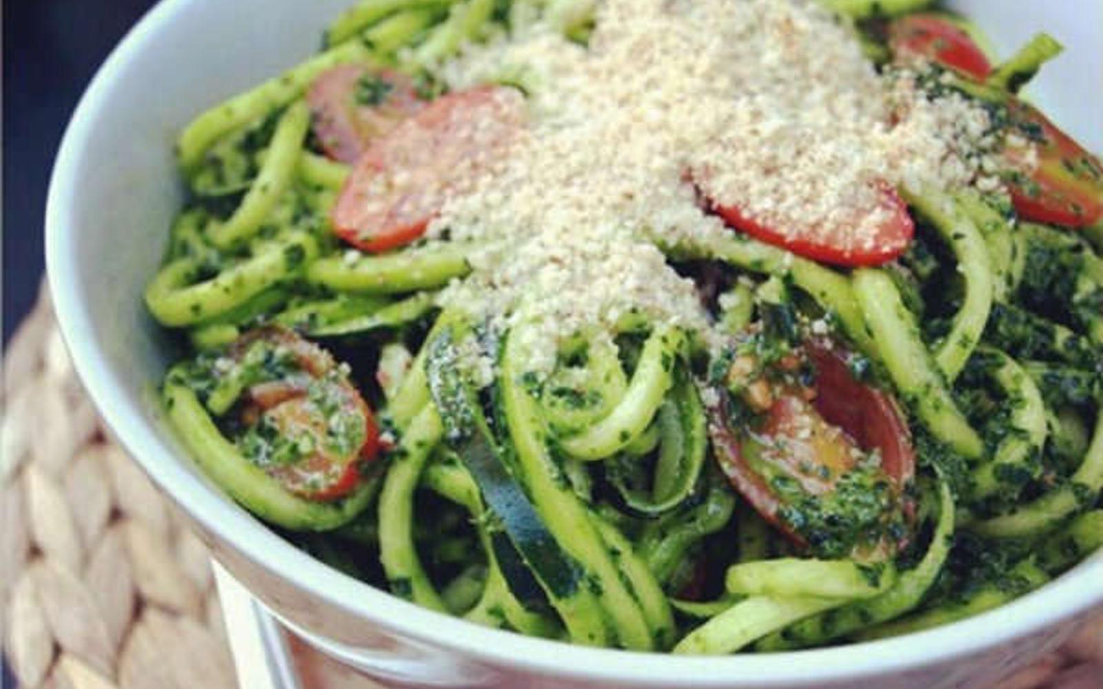 spicy kale pesto