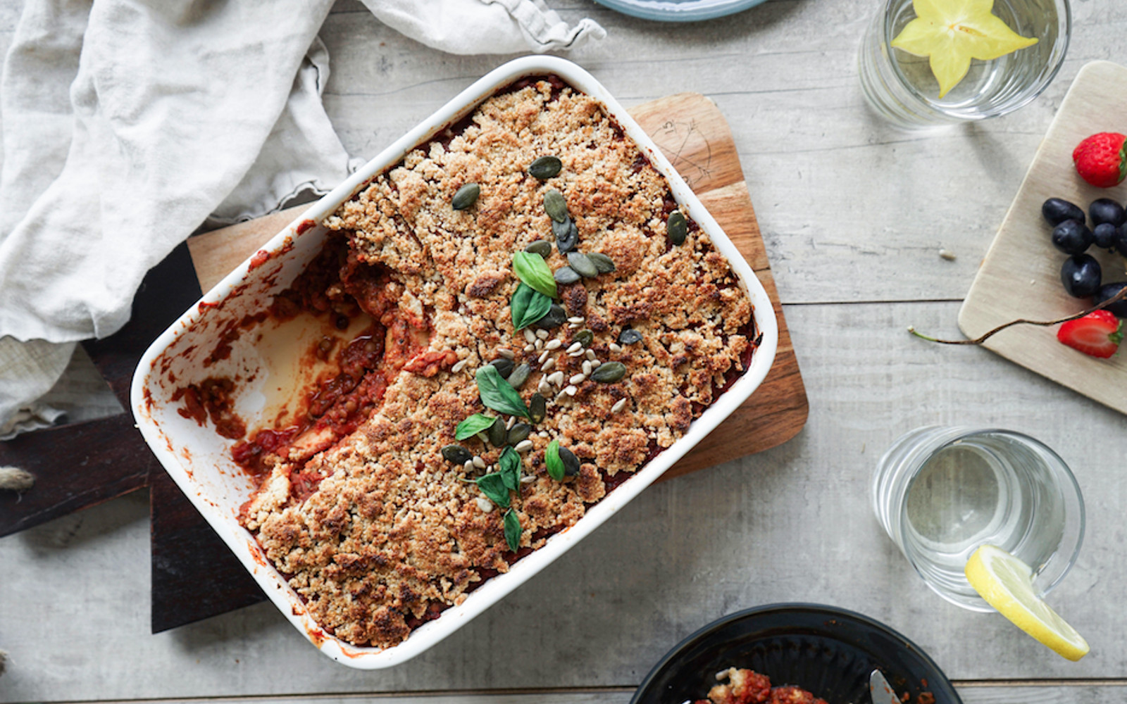 Lentil Bolognese and Potato Bake 2