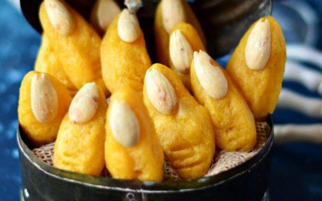 Mashed Potato Witch Fingers