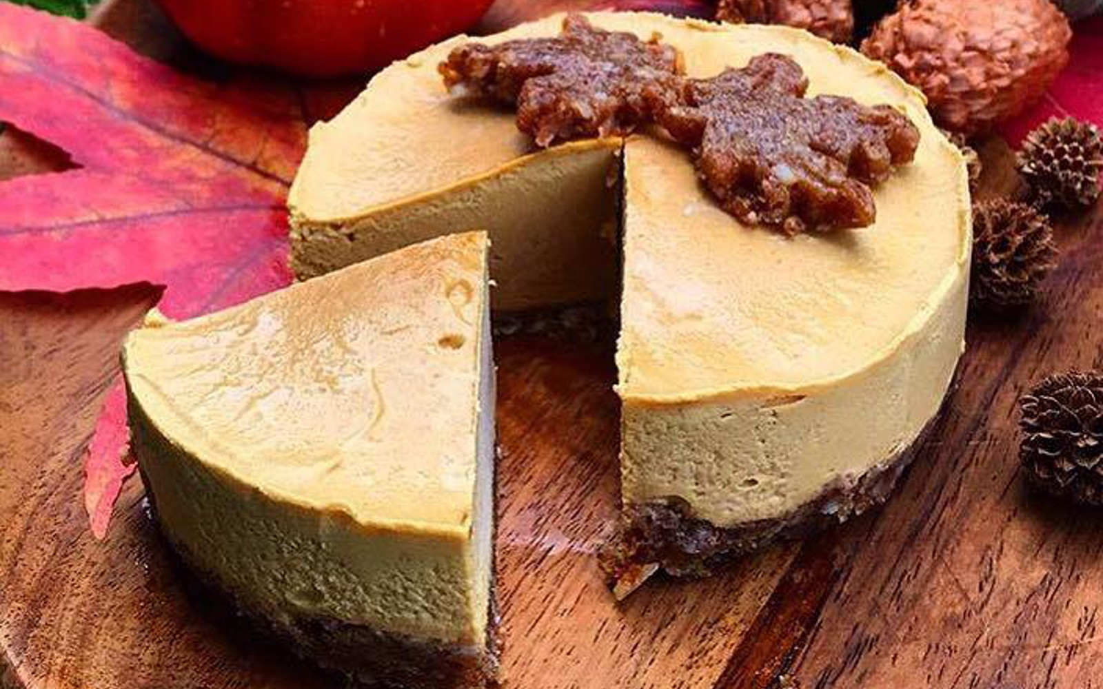 No Bake Maple Pumpkin Cheesecake 1
