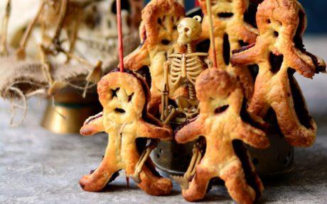 Puff Pastry Voodoo Dolls