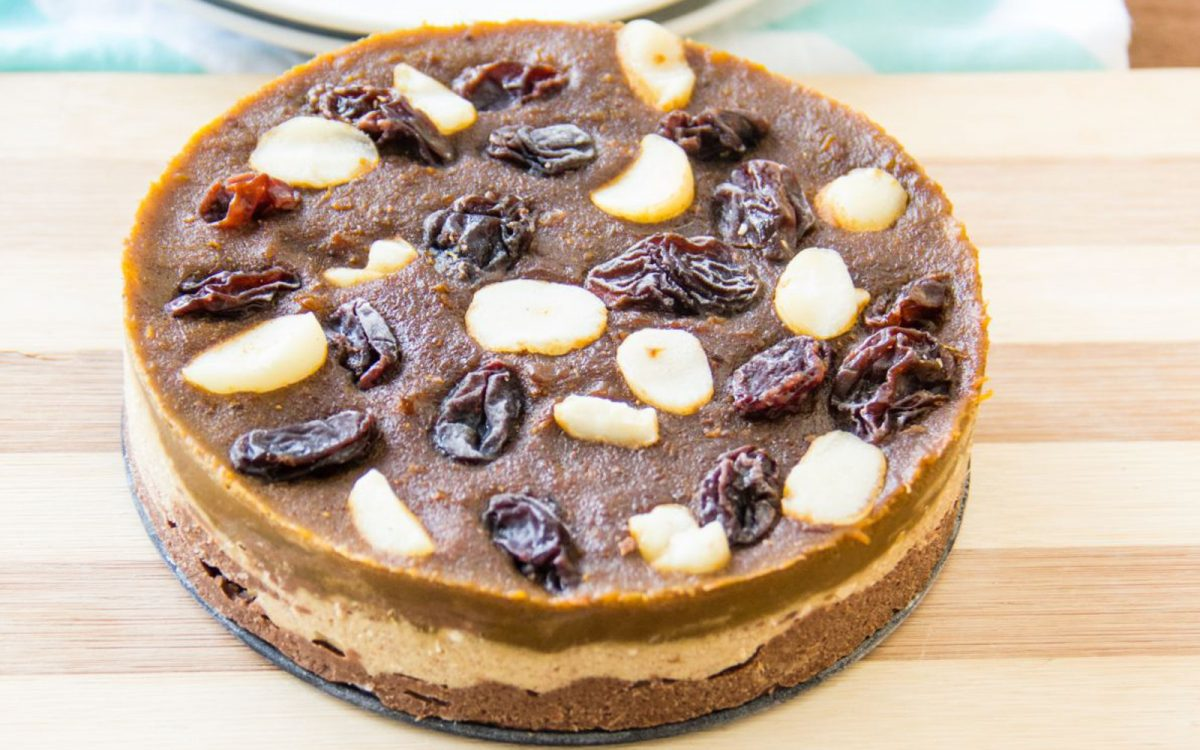 Pumpkin Molasses Freezer Tart 2
