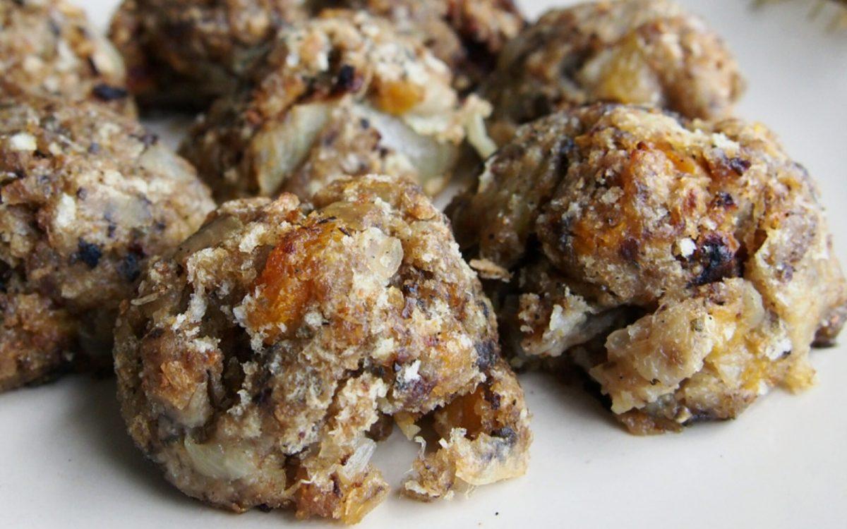 Sage Onion and Apricot Stuffing