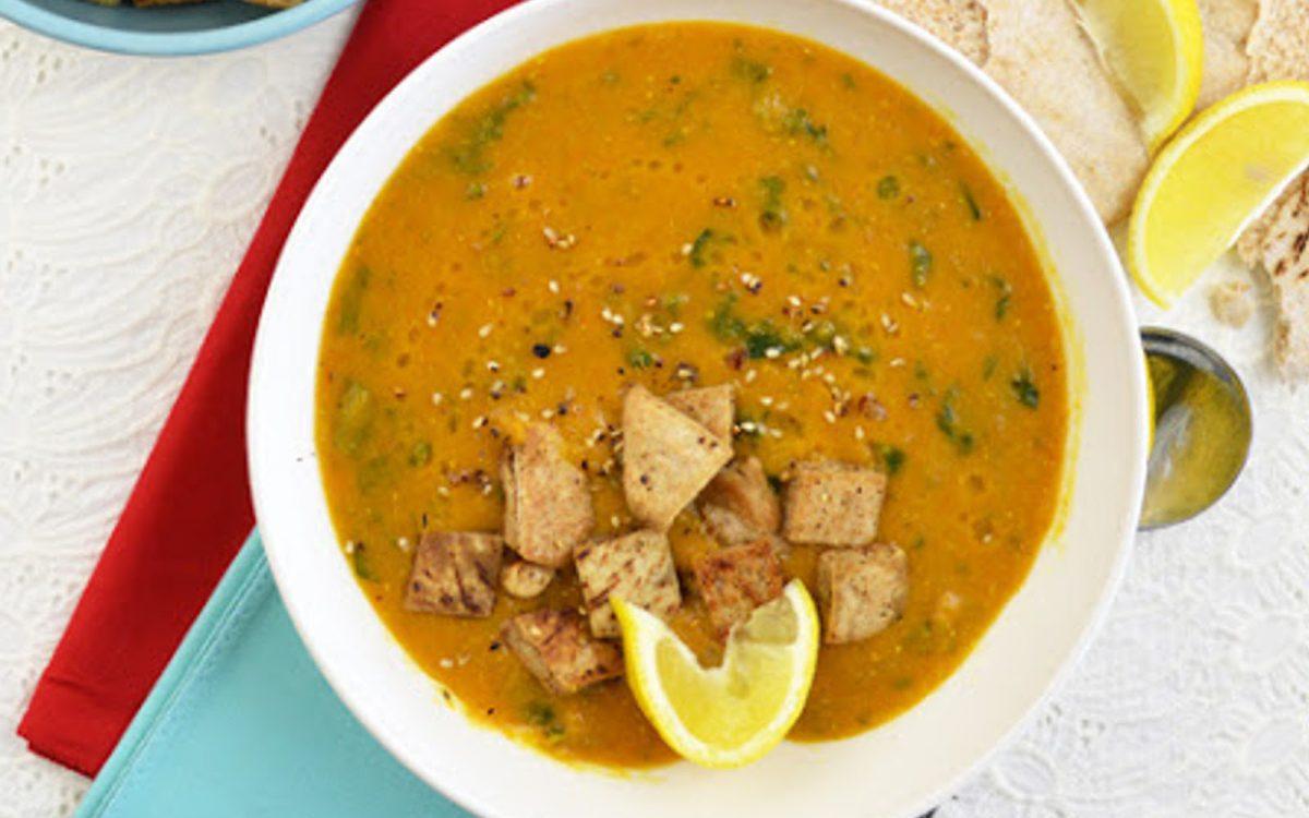Sorbat Adas: Middle Eastern Red Lentil Soup b