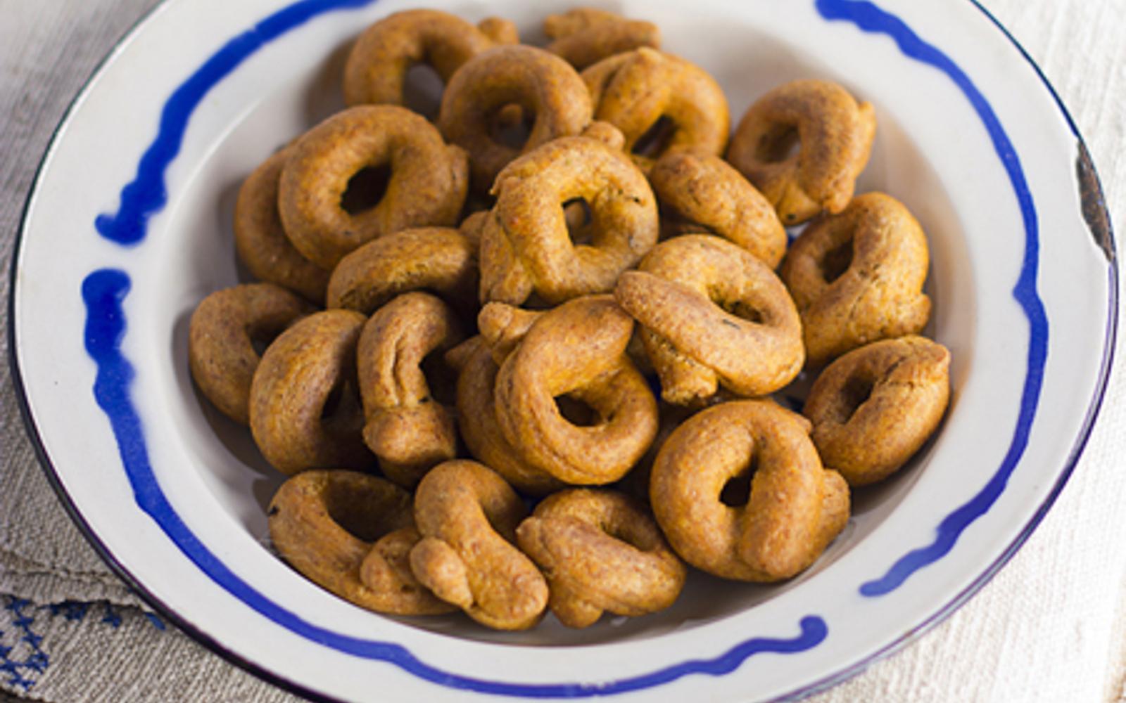 Vegan Taralli: Italian Snack Crackers
