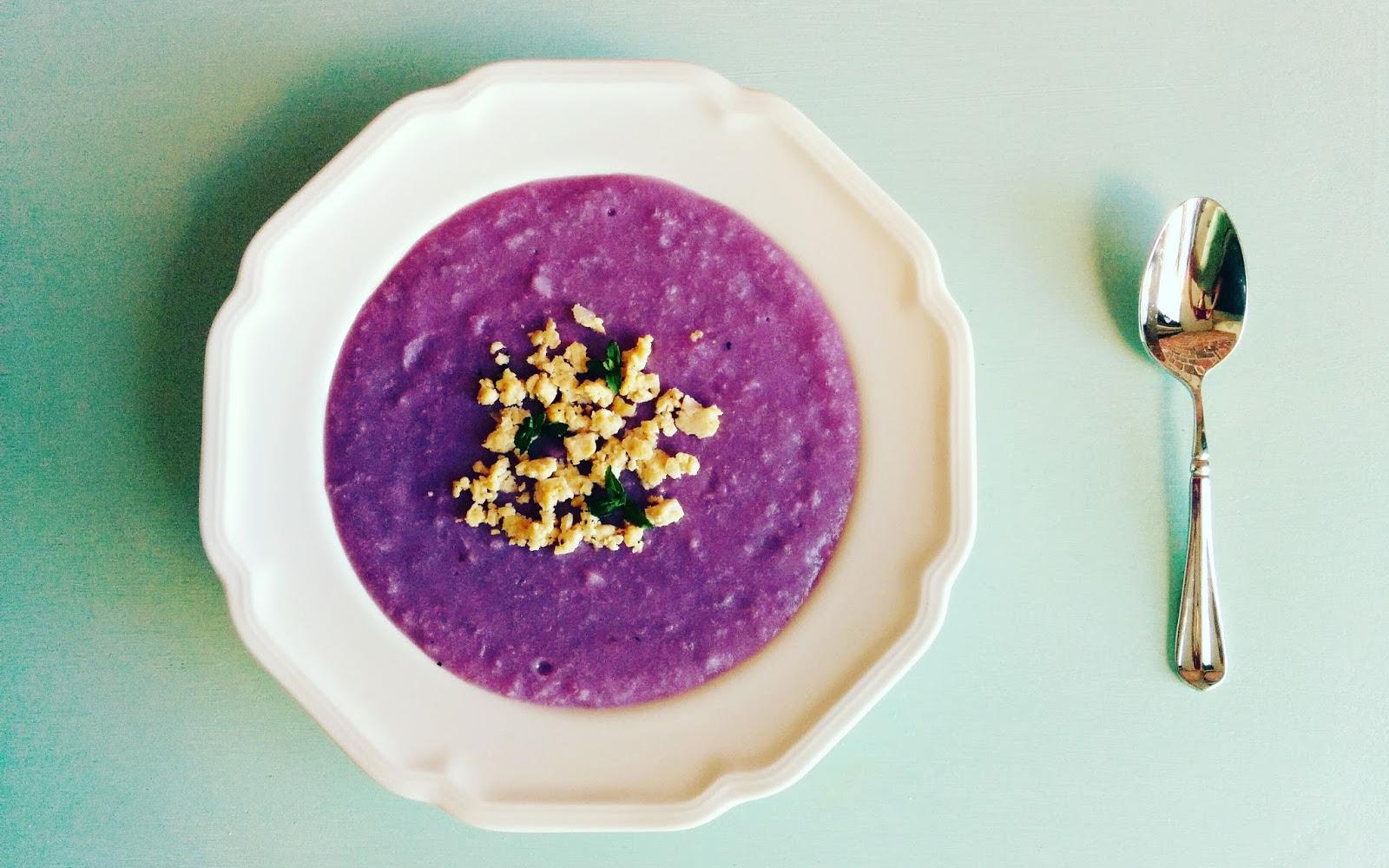 Vietnamese Purple Yam Soup 2