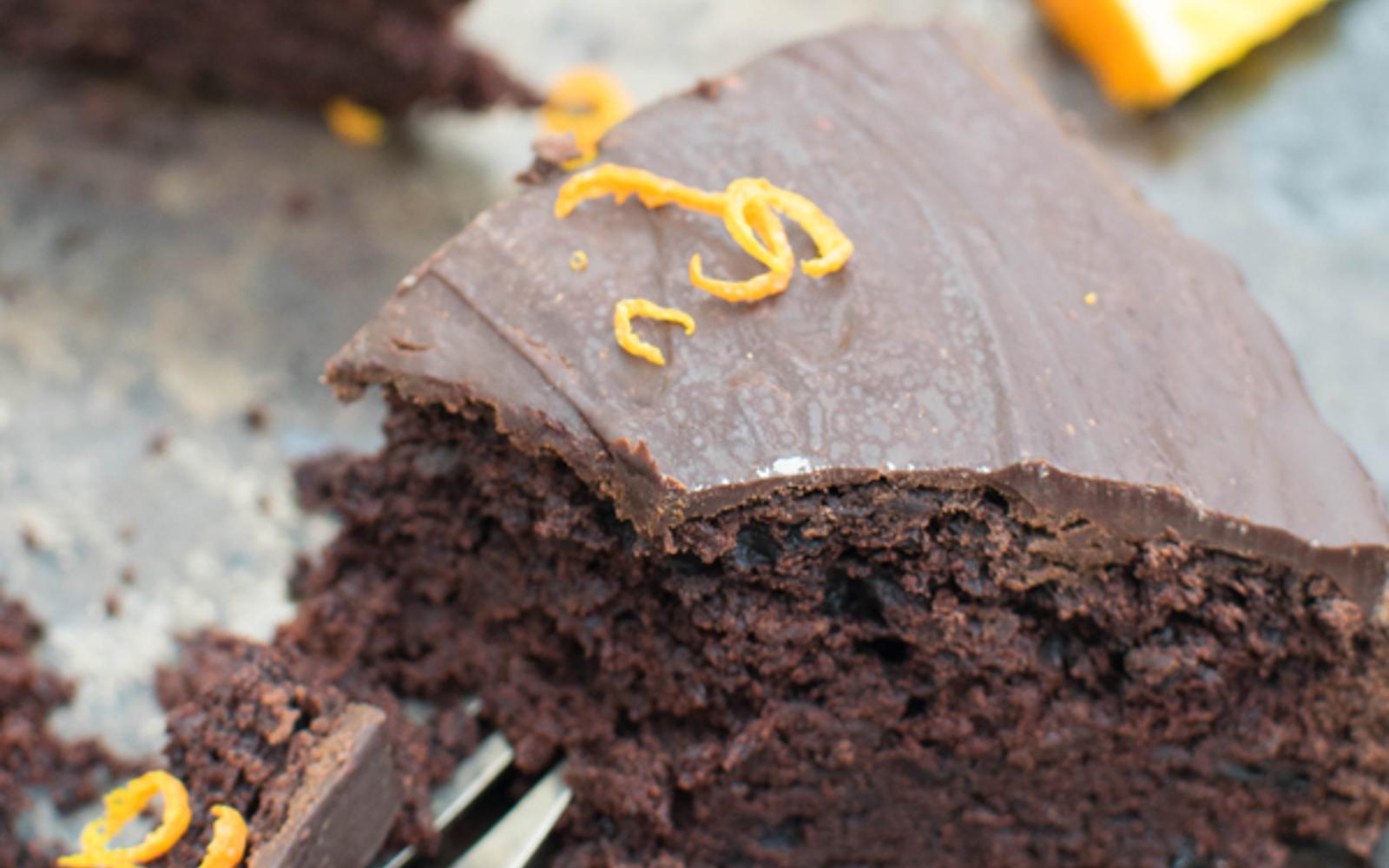 Orange And Beetroot Chocolate Cake