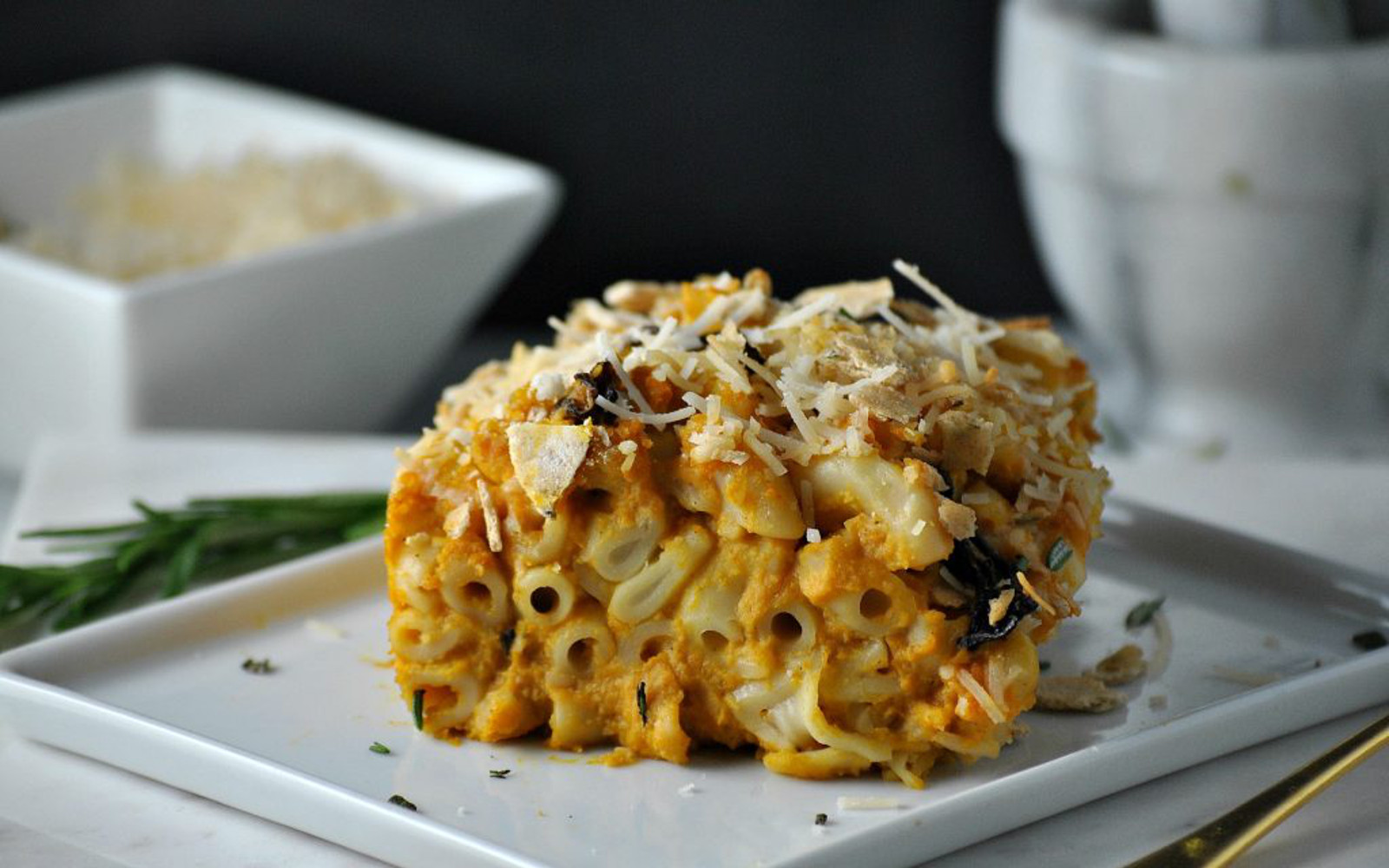 Butternut Squash Mac and Cheese Casserole 2