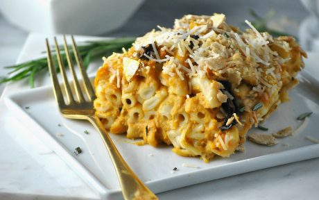 Butternut Squash Mac and Cheese Casserole 8