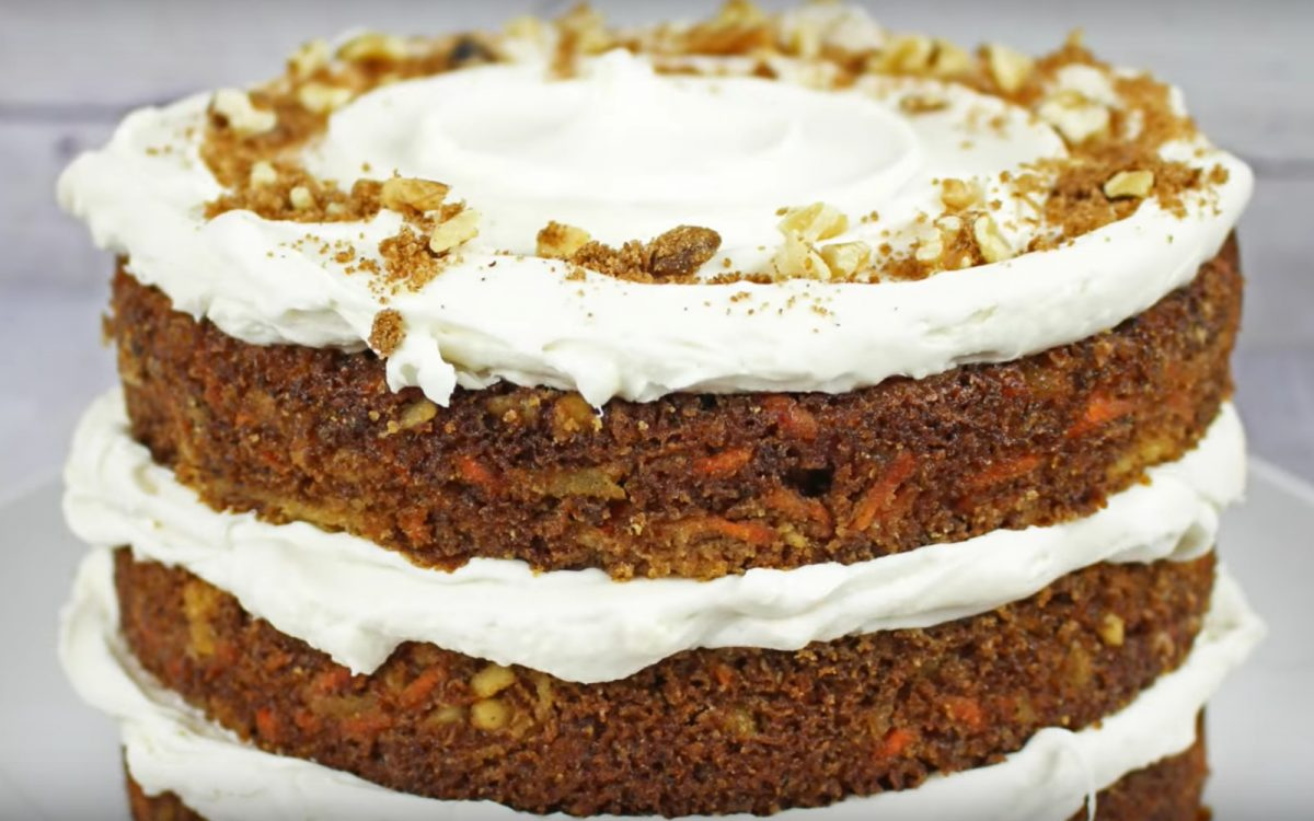 Triple Decker Carrot Cake