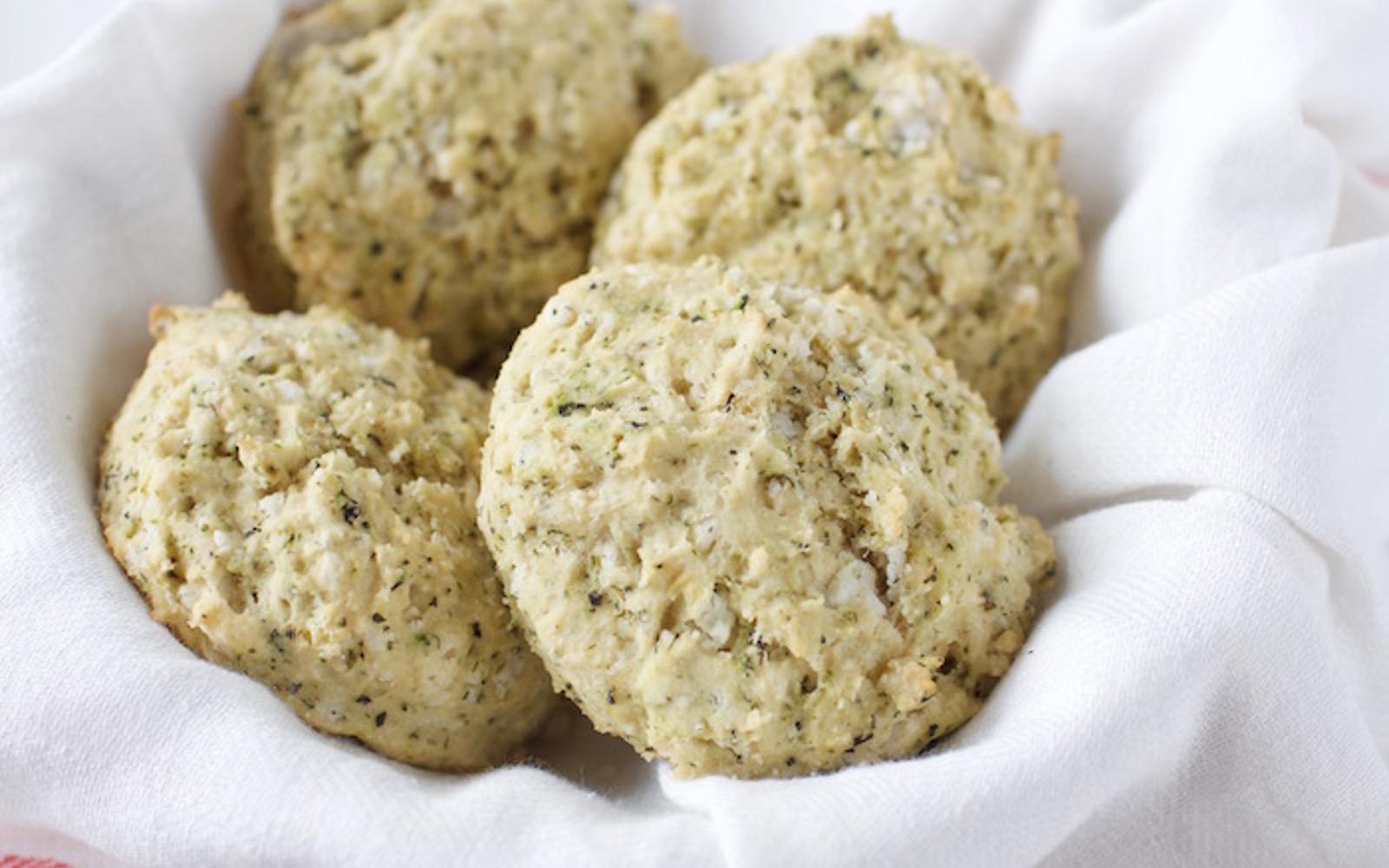 Herbed Biscuits With Mushroom Gravy b