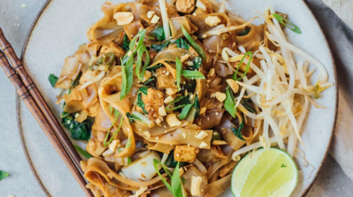 Vegan Pad See Ew: Thai Stir-Fried Noodles