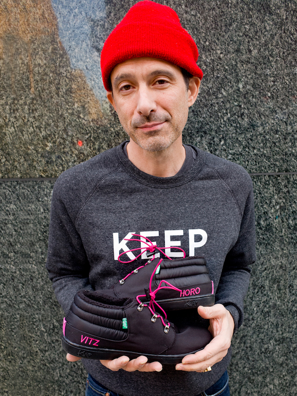 Beastie Boys MC Ad-Rock Collaborates With Planned Parenthood to Keep Our Feet Warm This Winter