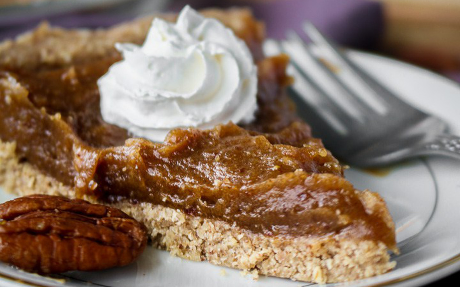 Easy Date Caramel Pecan Pie