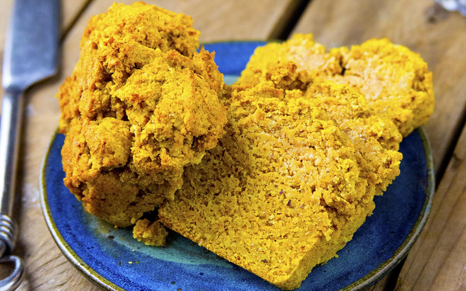 Paleo Pumpkin Spice Bread