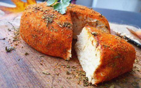 Raw Spiced Cashew vegan Cheese