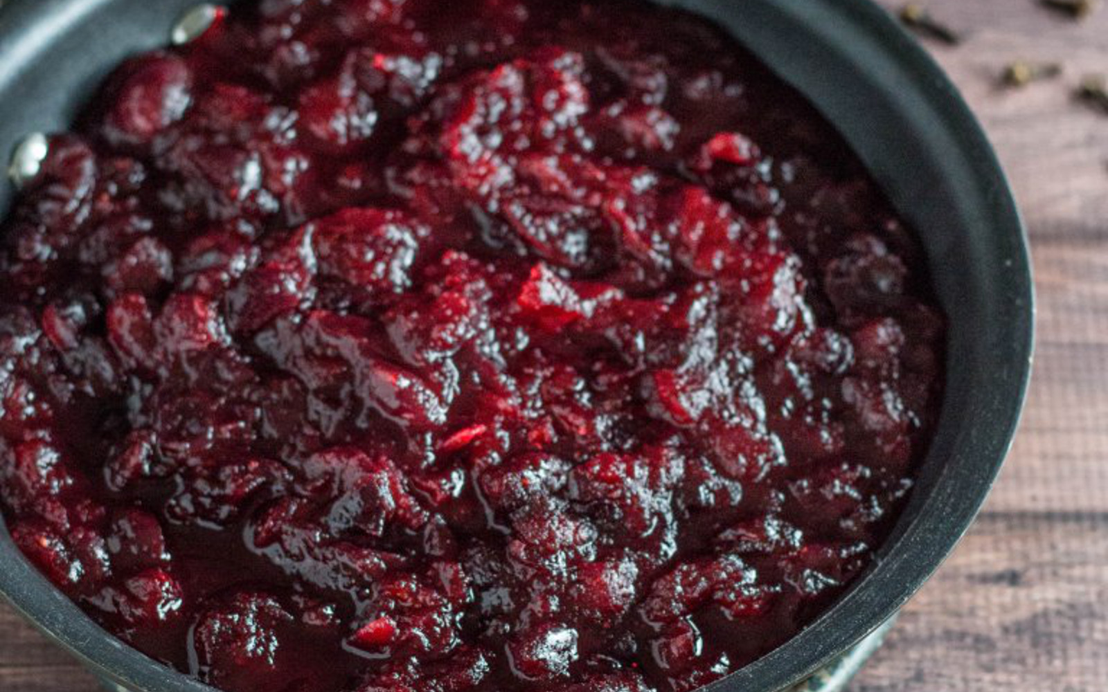Spiced Orange Cranberry Sauce