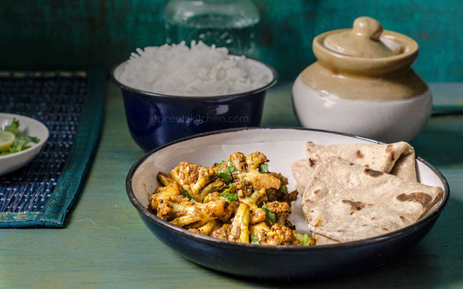 Achari Gobhi & Brussels Sprouts