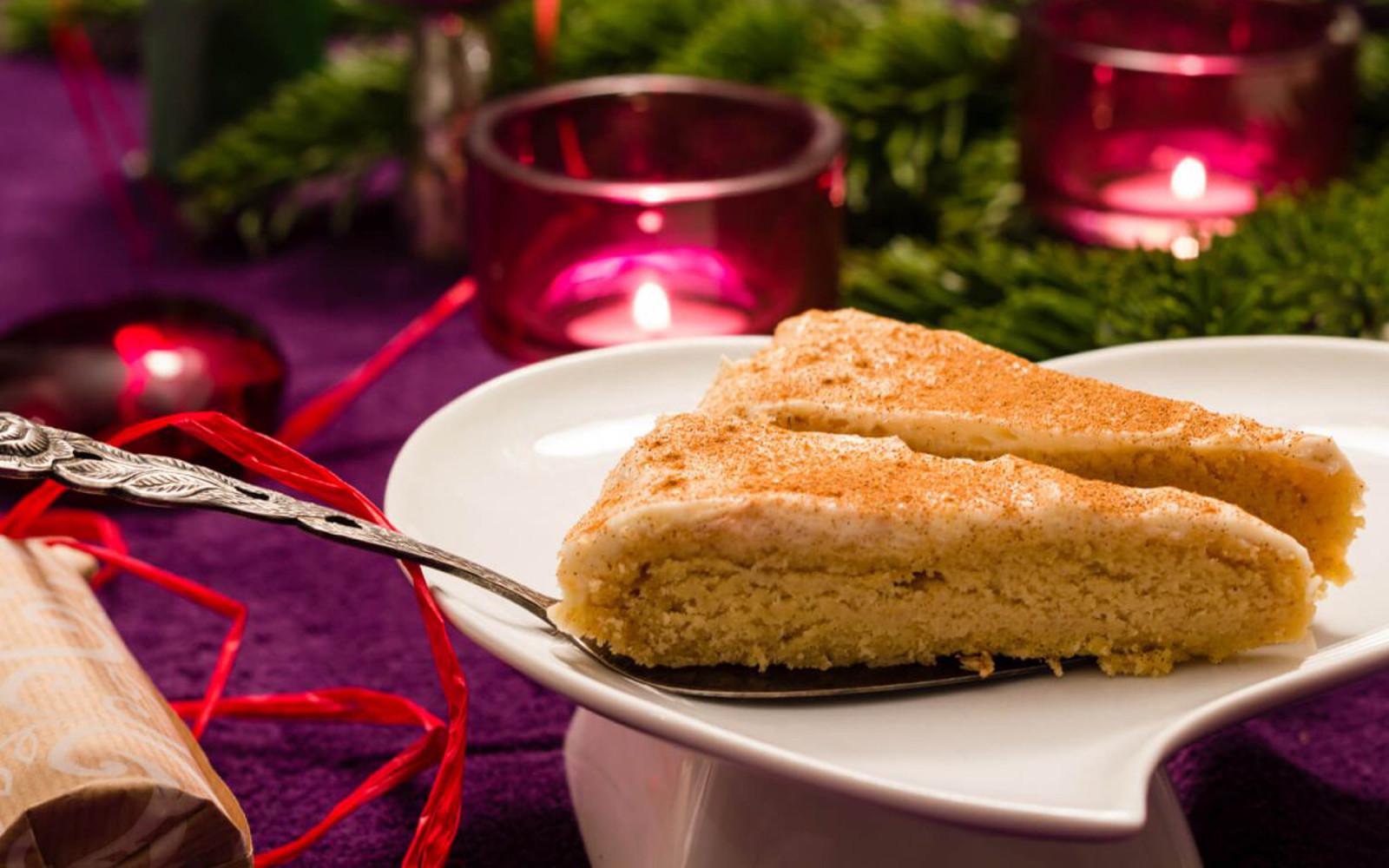 Vegan Gluten-Free Speculaas Cheesecake