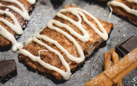 Chocolate Chip Churro Cheesecake Pop Tarts