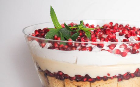 Festive Pomegranate Trifle