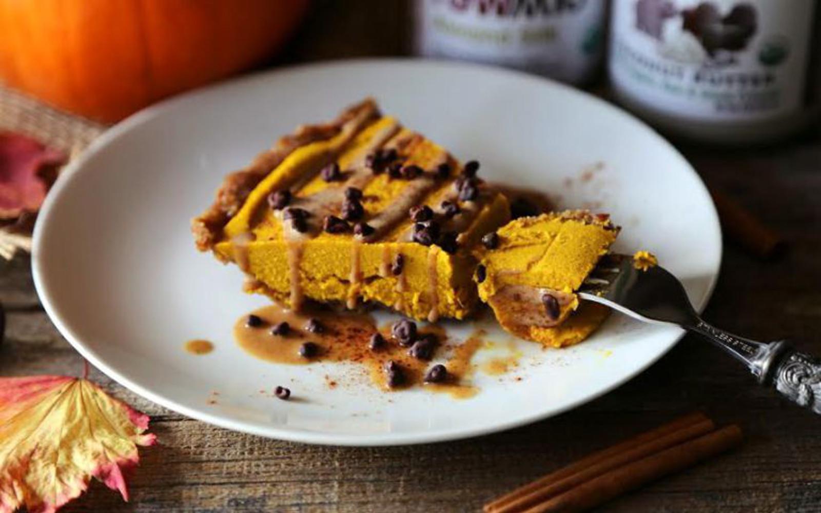Wholesome Pumpkin Cheesecake