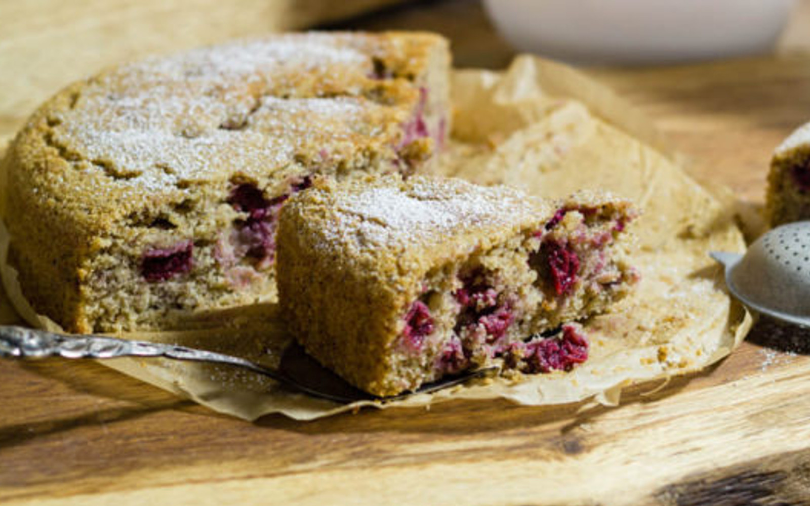 Nusskuchen: German Coffee Cake With Cherries