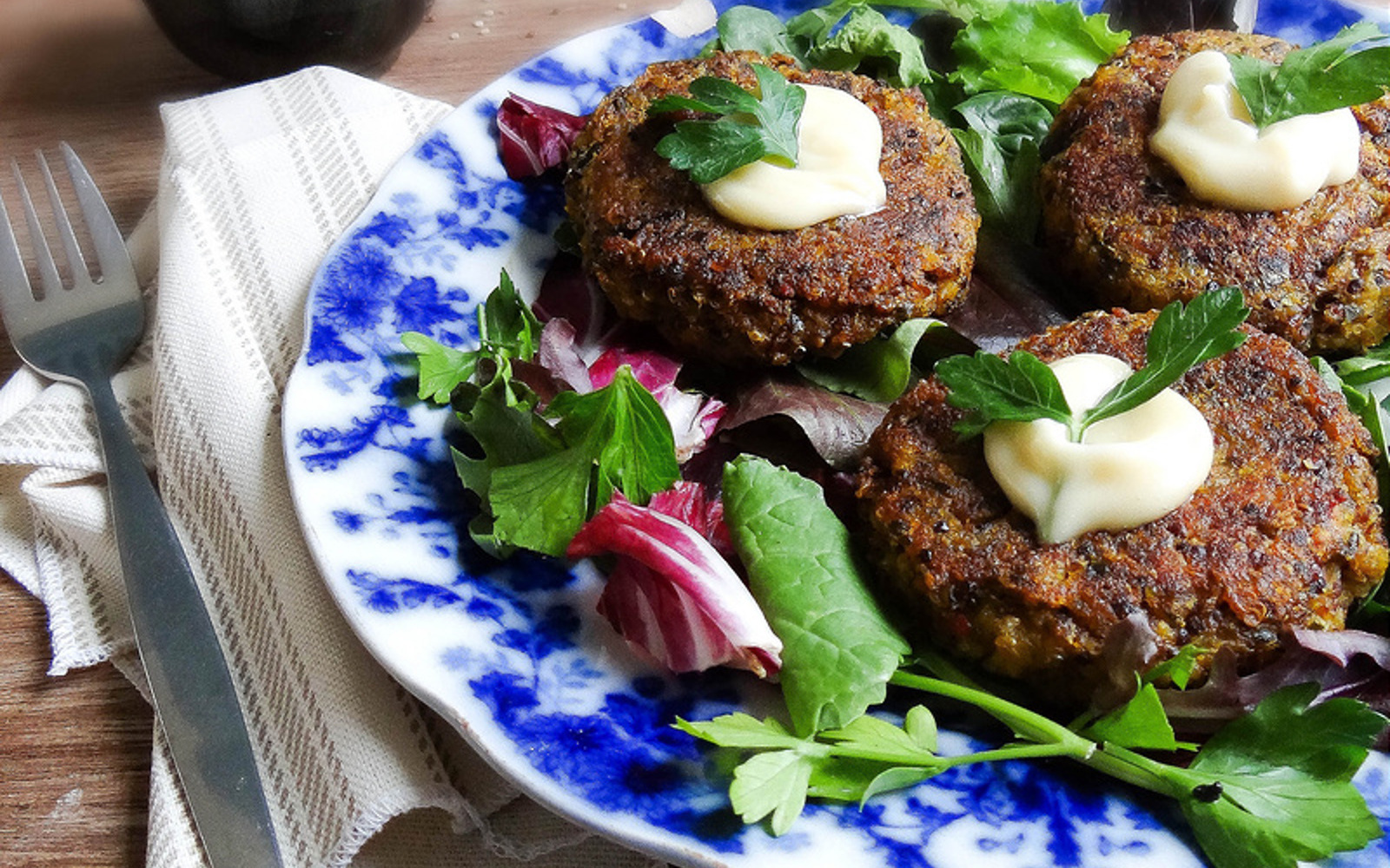 Winter Squash and Quinoa Rissoles b