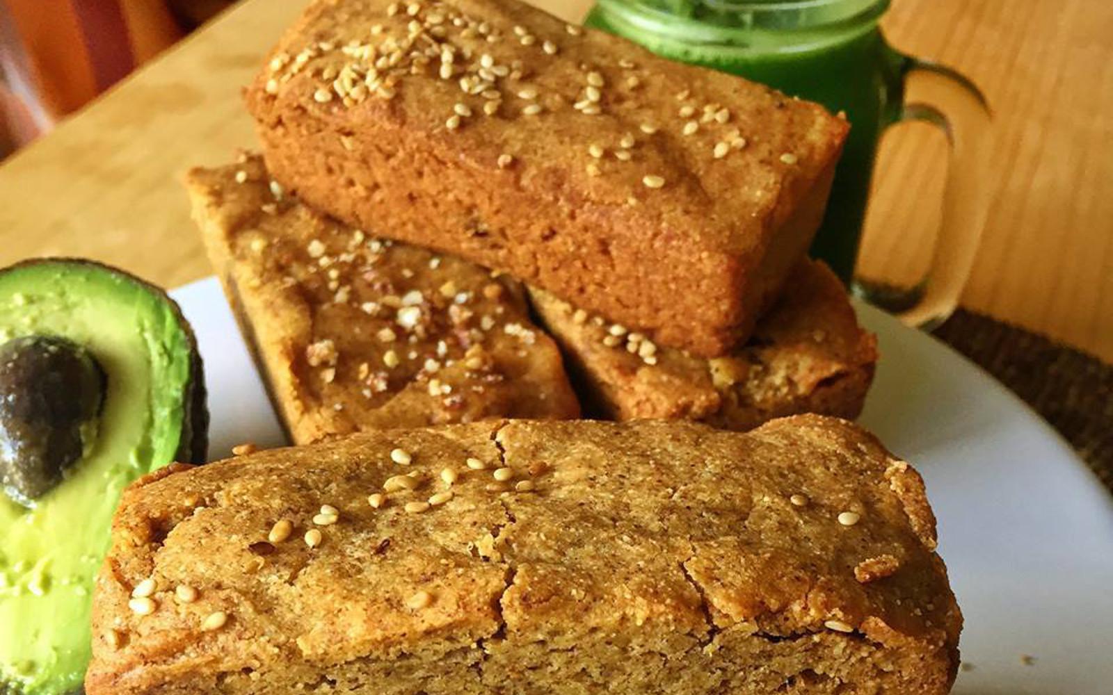 Almond Flour Sandwich Bread