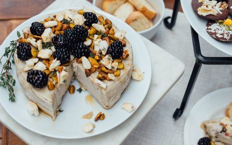 Cashew Brie to replace dairy