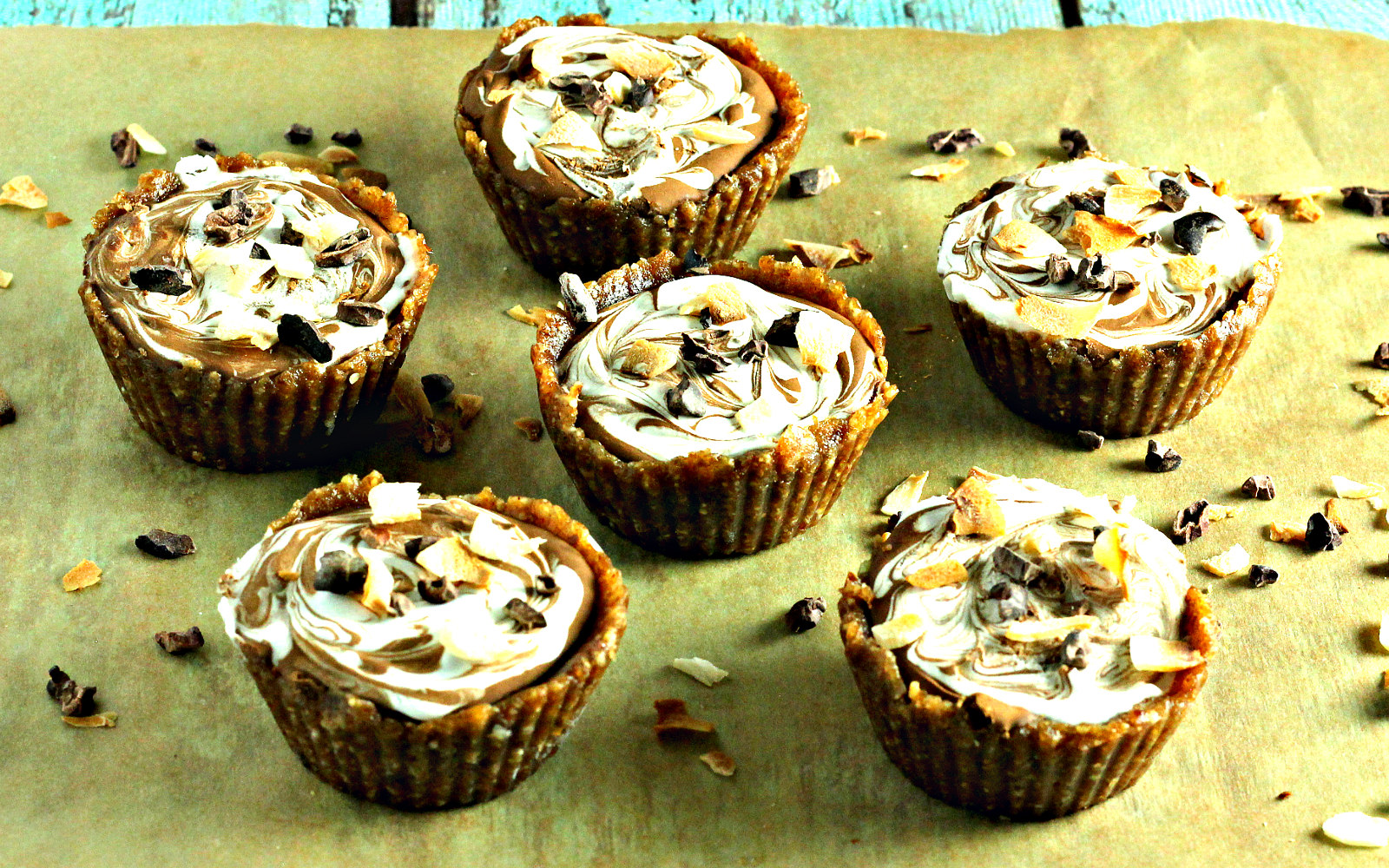 Chocolate Coconut Swirl Cups b