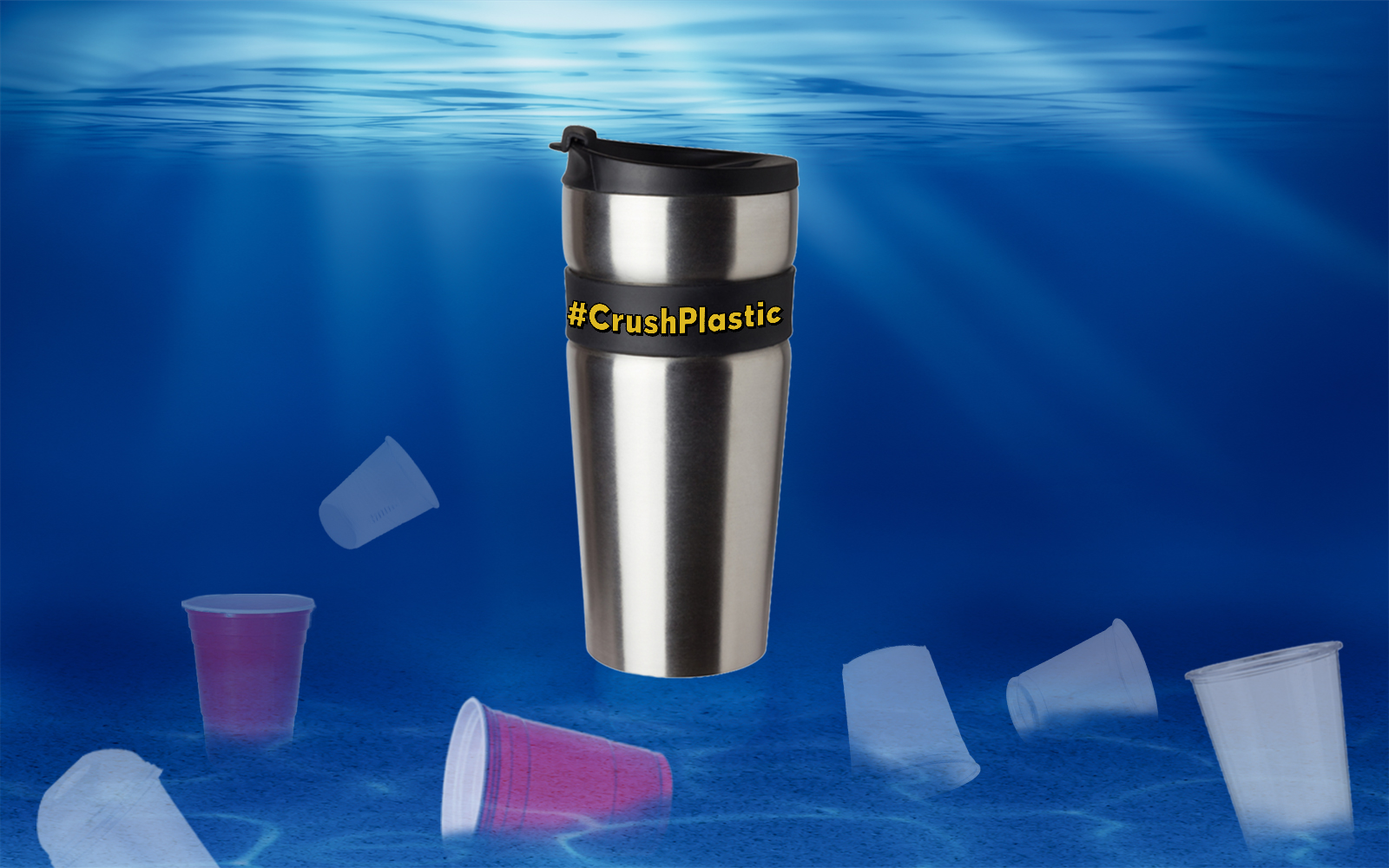 You Can Help Keep 500 Disposable Cups Out of the Oceans Every Year With One Easy Change