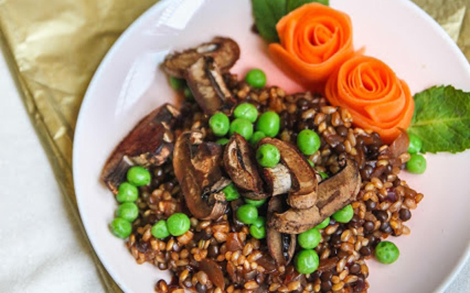 Smoky Jambalaya with Mushroom Jerky