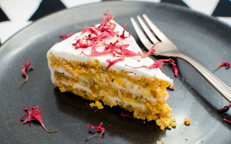 Delicious Carrot Coconut Cake