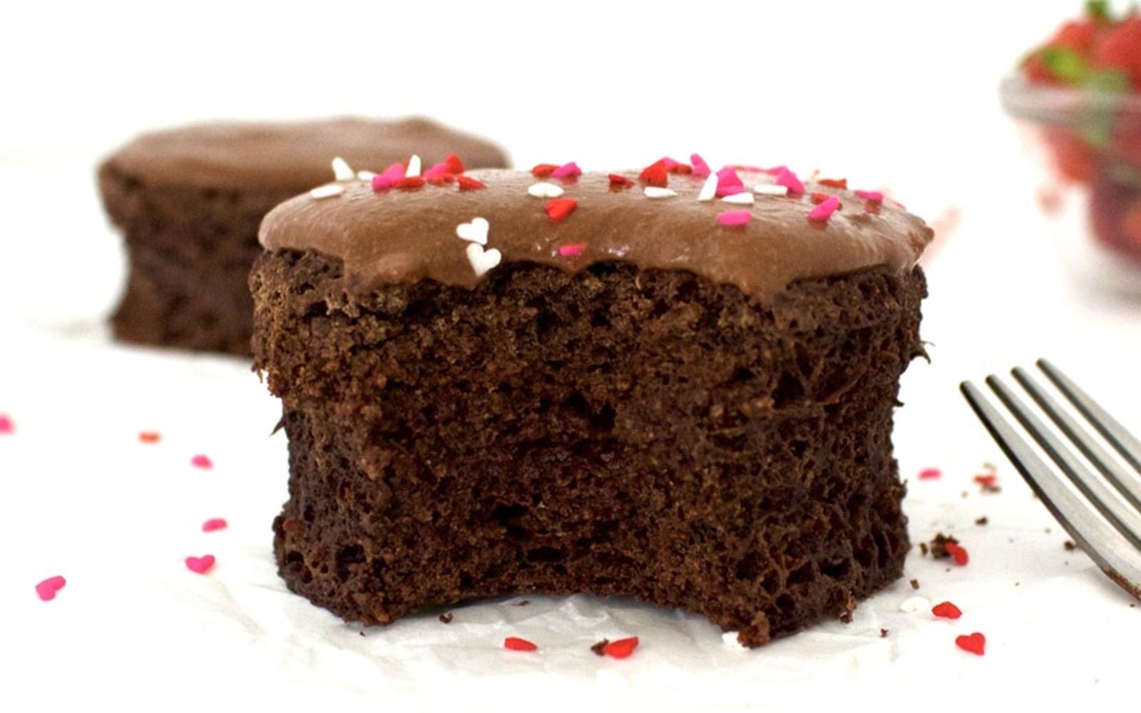 Oil-Free Chocolate Mug Cake b