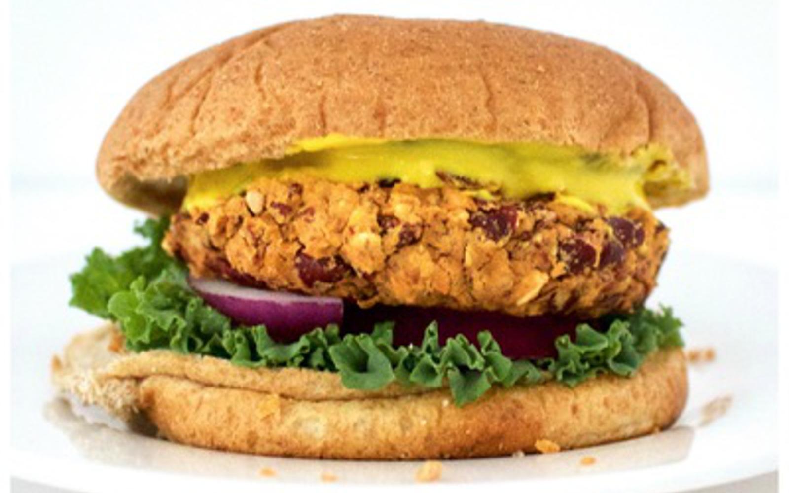 Oil-Free Kidney Bean Burger