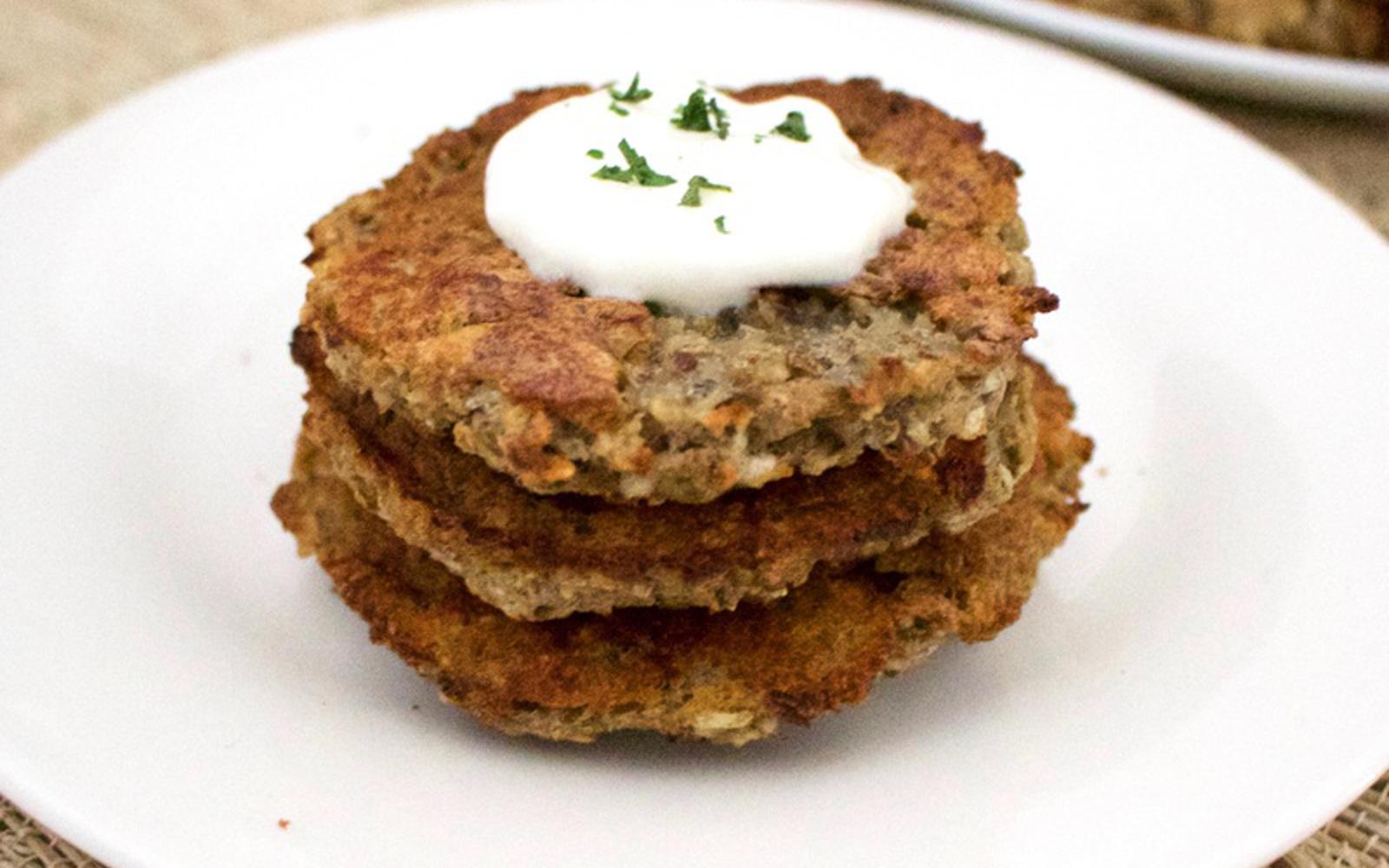 Vegan Gluten-Free Oven-Baked Latkes
